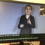 Cest parti pour le #ConseildeParis traduit en LSF et sous-titré. #paris accessible. http://t.co/3sEYDox4mZ
