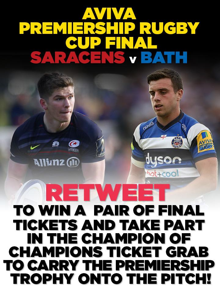 GIVEAWAY! #Retweet to win a pair of tickets to the final and a chance to carry the trophy!   https://t.co/ABs7QC1gXs http://t.co/R2GqWpeHKE