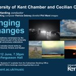 Premiere of multi-disciplinary commission blends poetry, choral music & electronics, Fri 12 June part of @UniKent50 http://t.co/vhhgIg0K9V