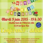 """Conférence """"Bien manger, bien grandir"""" le 9 juin prochain - http://t.co/L78l2x4COL http://t.co/dSh3DEOC6k"""