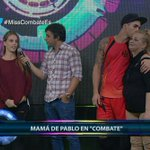 #VIDEO .@PabloMMorcillo presenta a su mamá en .@COMBATE_ATV ► http://t.co/CQ2MyNDiMV http://t.co/EcaCE9seId