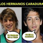 Los hermanos caradura! #ElQueNoCaeResbala http://t.co/X9VurATAk6