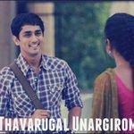 RT @thinkmusicindia: Thavarugal Unargirom #HD Video Song from movie Kadhalil Sodhapuvadhu Yeppadi- https://t.co/c2pXwFvsW5  #Siddharth