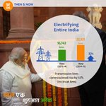 "RT ""@PMOIndia: Electrifying the entire Nation. #SaalEkShuruaatAnek http://t.co/sf2yrIJ81j"""