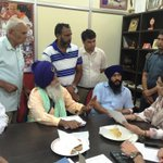 RT @KirronKherBJP: A glimpse of the meetings I have with #Chandigarh residents regularly, as their representative