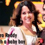 #SameeraReddy blessed with a baby boy...Congratulations.  http://t.co/iVUK1GKVVV http://t.co/GLm8DDAf1z
