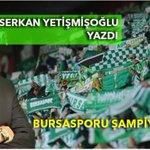 #Bursaspor Bursasporu Şampiyon Gibi Bağrına Basmalı >>>http://t.co/W46VwiwA2H http://t.co/HsIxyW7fYm