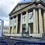 #WWII #Pantheon2015 Derniers préparatifs avant lentrée au Panthéon, demain, de figures de la Résistance http://t.co/I53AEdPGrh