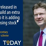 .@gregclarkmp: Every housing association property sold will be replaced one-for-one with a new property. #righttobuy http://t.co/Opq3N9Q1Mw