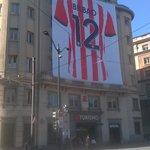 Todos con el @AthleticClub Bilbaínos y los que nos visitan van a vivir una ciudad en ebullición http://t.co/AhY65ouyMx