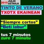 ÚLTIMOS DÍAS PARA RECIBIR PROPUESTAS ESCÉNICAS Tus mejores 7 min. en una noche compartida. #danza #teatro #Bilbao http://t.co/DHzZ784QT7