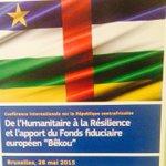 .@AnnickGirardin participe à Bruxelles à la conférence sur le développement & laide humanitaire à la #Centrafrique http://t.co/yLWdSRk7J0