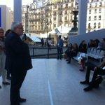Répétition générale avant l'hommage solennel de la Nation à quatre grandes figures de la Résistance #Pantheon2015 http://t.co/HYNQR1ePls