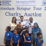 The students at IDEAS Autism Centre met @Ryan_Mason13 and @andros_townsend from @SpursOfficial @spurs_MAS http://t.co/jXDAb69fxz