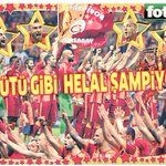 """Ana sütü gibi helal şampiyonluk"" (Fotomaç) http://t.co/em1KgprMyK"