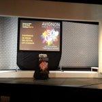 Préparation de la conférence de presse du #festival OFF d#Avignon #OFF15 @ Théâtre de #Paris début dans 30 minutes ! http://t.co/T4tSRClZon