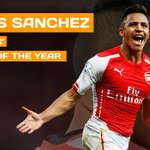 BREAKING: @Arsenals @Alexis_Sanchez named @PFA Fans Player of the Year! #POTY http://t.co/Mw3uWDUiGM