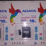 .@Dlsistemas Memorias MicroSd 16 GB Adata,Clase 10 Muy Rapidas,Originales,2900 BsF #Lara http://t.co/PnMfQY3Hnc  http://t.co/90Rlnl9q4U