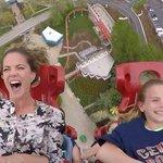 Watch @NMoralesNBC soar, scream on roller coaster: