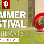 Enjoy summer at Indiana University, where the arts are always in season. http://t.co/QloITYABL6 http://t.co/qhPH4MdYCs