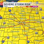 severe weather threat in #inwx this afternoon & evening. damaging wind & iso. tornadoes possible #indy http://t.co/gewwqaWjPC