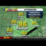 Dry today. Humidity is back! Maybe a pop-up shower! @BigweatherABC11 has the forecast! #ABC11Eyewitness http://t.co/jQVzmqGoHp