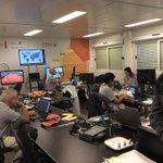 #RG2015 #IBM a Roland Garros avec les équipes IBM qui travaille sur les Analytics du site Roand. Garros http://t.co/t8KwE2kFzY