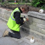 Our #bricklaying students are doing a great job at St Mary de Crypt #Gloucester. http://t.co/hjXM0qrFeh #stonework http://t.co/M0izZ0SCui