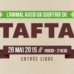 Conférence-débat #TAFTA #élevage #bienetreanimal : quelles conséquences? avec @DurandEELV https://t.co/c5aCrmGSMC … http://t.co/4hLmljcZjW