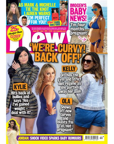 It's mag day! In this week's new! @nannypat_carol channels her inner Kris Jenner PLUS: