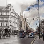 16 Ghostly Images of #London Street Scenes Then and Now http://t.co/3QW2P2ri2D @HistoryLondon #lovelondon http://t.co/e9FfGoRLxz