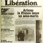 Il y a trente-cinq ans dans @libe: le Festival de Cannes, présidé par Kirk Douglas, sacrait Kurosawa et Bob Fosse. http://t.co/zl9OOpxsY1