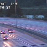Good news! All clear NB 5 before Pacific from earlier brush fire under I-5. #liveonkomo http://t.co/x2DQ2JseZH