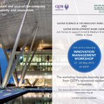 Our workshop with @QDB_ on Innovation Management starts tomorrow. Sign up here: http://t.co/JSKsdUpr7H #Qatar #Doha http://t.co/7x4MSiVjco