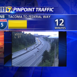 Slight delays through Tacoma on NB I-5. Overall off to a great start for the Tues am commute! http://t.co/a6sKt1hrgZ