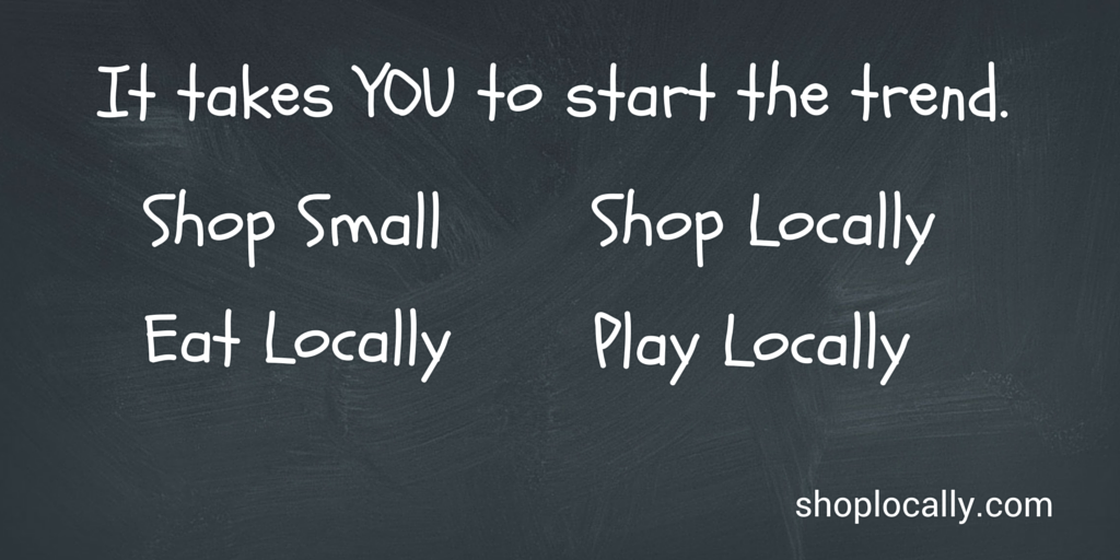Locally owned businesses offer great value, service and selection and they help strengthen our local economy! http://t.co/bPoaFKASOK