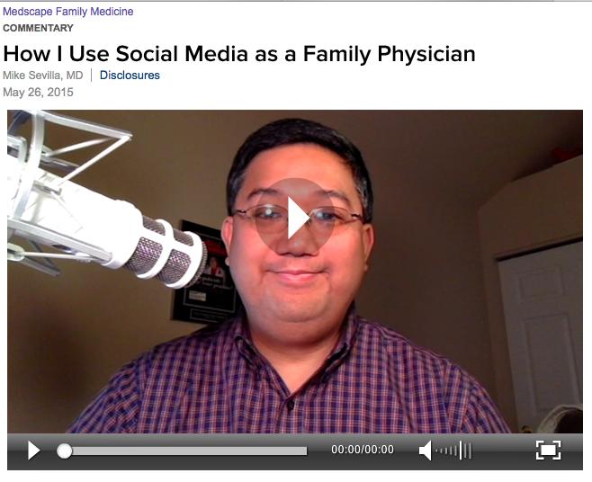 How I use Social Media as a Family Physician: Thx 2 @MedscapeFM  #FMRevolution #hcsm http://t.co/OKWlCmZL1L http://t.co/mfJn2eleew