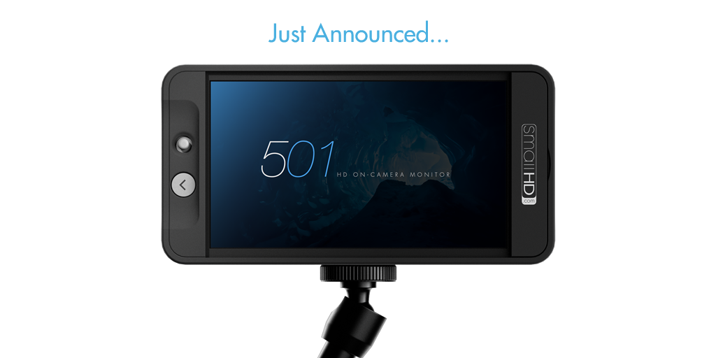 Introducing the newest 500 Series on-camera monitor... the 501. Learn all about it here: http://t.co/vjvKkqP2ul http://t.co/fYXjwAM0m7