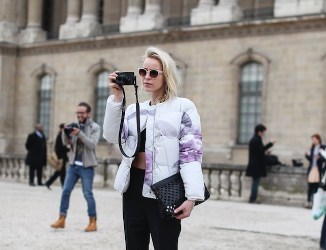 how to make a puffer jacket smaller