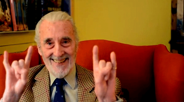 Happy birthday to Sir Christopher Lee, who turns 93 today! #lotr #tolkien #saruman #thehobbit http://t.co/zqyo8NZWQA
