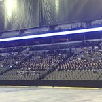We are told there are about 3000 people here at the @centurylinkoma for Officer Orozcos funeral. http://t.co/uU19XIhcTj