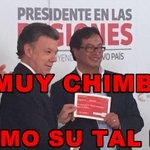El único cheque de @JuanManSantos que no es chimbo es para los terroristas farc, arrodillar al país esta en marcha. http://t.co/tvPigkR0dK