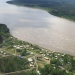 The village I grew up in. Ruby, on the Yukon River. #alaska#yukon river http://t.co/kX3D2asIyl