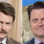 ICYMI: @Nick_Offerman spills on whether his mustache will ever return http://t.co/WQiiXciOLm http://t.co/E8qD5ZJelK