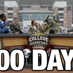 Only 100 days until the college football season kicks off! http://t.co/Tq7jP5kXse
