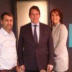 Avec Nathalie Normandeau et Eric Duhaime, bonne entrevue au FM 93 #PQ #polqc http://t.co/gcZoXuOmXL