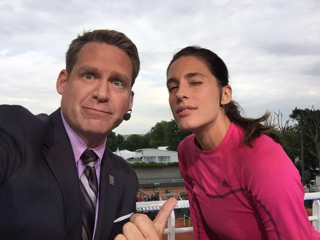 Gotta love @andreapetkovic -- even when she beats an American. Has endured so much to get back to the top-10. #Danke http://t.co/2CgnCveby0