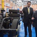 En Funza Cmarca @MercedesBenzCol abre 2da planta con inversión $5mil millones.Empleará 220 colombianos @MincomercioCo http://t.co/EOjhx0okvf