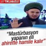 Pregador islâmico diz que homens que se masturbam ficarão com mãos grávidas. http://t.co/51ClywIMBW [@blogpagenfound] http://t.co/GlzEDJW895