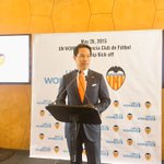 RT @ravikarkara: .@RichardLui starts the partnership launch of @valenciacf and @UN_Women @phumzileunwomen @FarOutAkhtar @MirzaSania http://…
